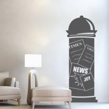 Advertising pillar