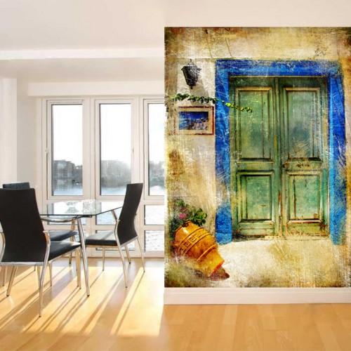 Wallpaper Old Door