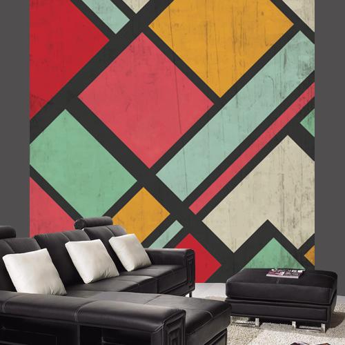 Wallpaper Retro color