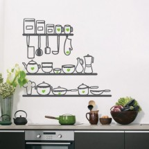 Kitchen shelve