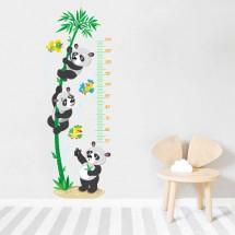 Height measure Pandas