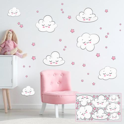Clouds - rose