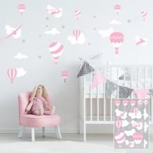Air balloons - rose