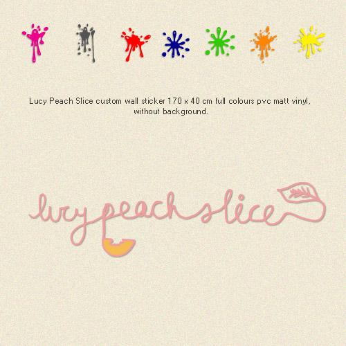 Lucy Peach Slice
